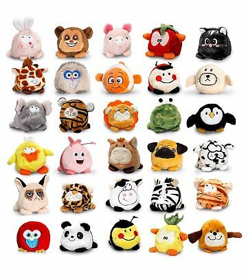 New Keel Toys 1 Random Bobballs Cuddly Soft Toy Plush For Kids Collect Them All