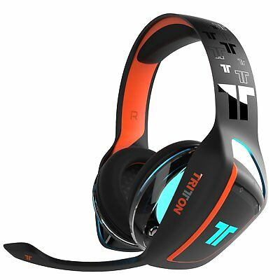 Tritton Ark 100 Micro-Casque Headset Gaming PS4 Nintendo Switch - Noir et Orange