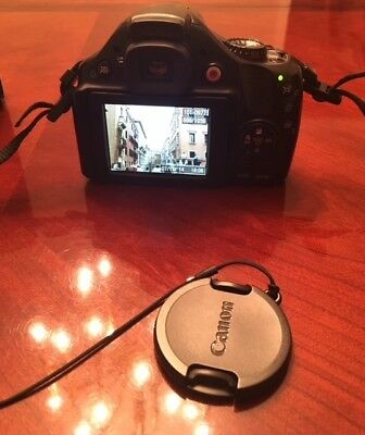Canon PowerShot SX40 HS Camera with box, 2 batteries & SD Card, GREAT condition!