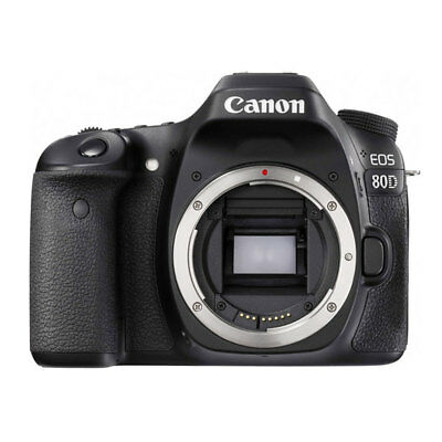 Canon EOS 80D Digital SLR Camera Body (Black) - Brand New!