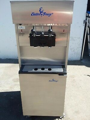 2014 Electrofreeze 99T -RMT Soft Serve Ice Cream Frozen Yogurt Machine 3ph Water