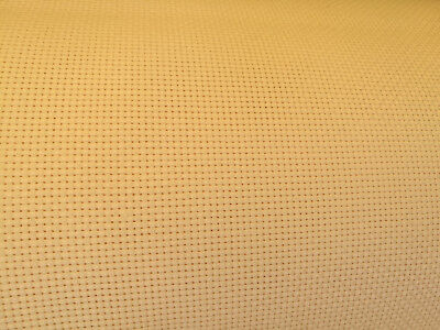 Aida 11 Count Cream Cross Stitch Fabric Material 100% Cotton  **10% Off 3+**