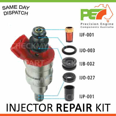 FUEL INJECTOR O-RING REPAIR KIT FOR FORD CAPRI COURIER LASER METEOR TELSTRA x1