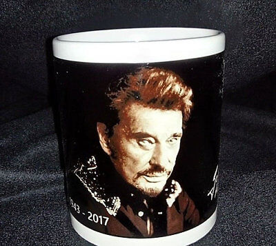 Mug/Tasse TRIBUTE TO JOHNNY HALLYDAY