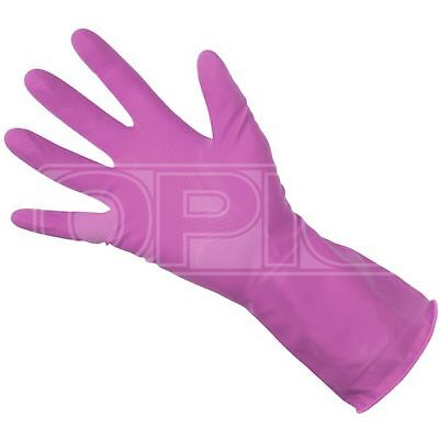 Unicare Pink Household Gloves - Small (UGHG3002P)