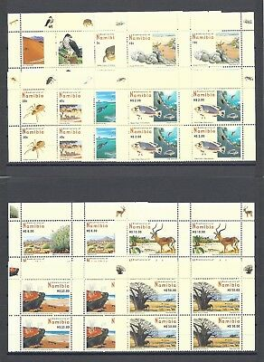 NAMIBIA 2007 SG 1053/64 MNH Blocks of 4 Cat £112