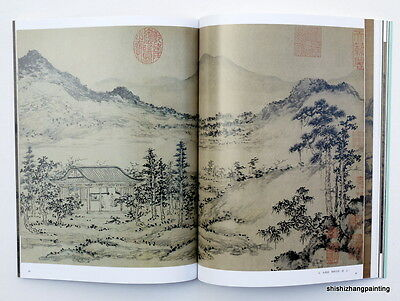 Chinese book album of landscape painting in ancient China (Song Yuan dynasty)