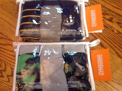 Gymboree Boy's Briefs Underpants New In Package Size 7-8  *6 Pair* New