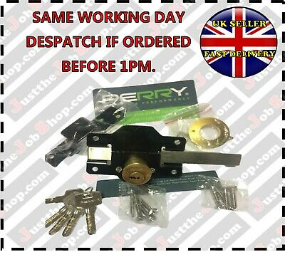 Perry High Security Garden Gate/Shed/Door Lock 50mm Long Throw Keyed Alike