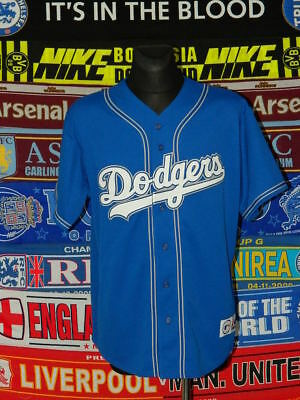 5/5 Los Angeles Dodgers adults XL MINT majestic baseball top