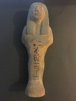 Rare Large Ancient Egyptian Wooden Queen Hatshepsut Statue (1479-1457 BC)