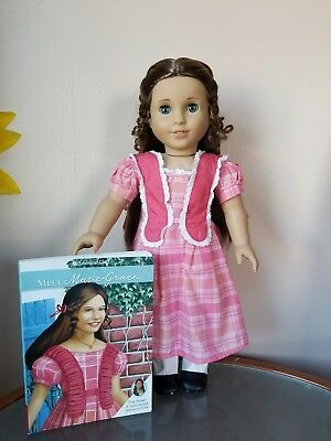 American Girl Doll MARIE GRACE Historical Retired in Original Outfit with Book