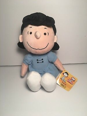 Kohl's Cares Peanuts Charlie Brown's Lucy Plush Doll Stuffed Toy With Tags