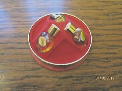 Avon 1966 Perfume Oil Petites 3 Unused Perfume Oils Pin Cushion Box Has Been Use