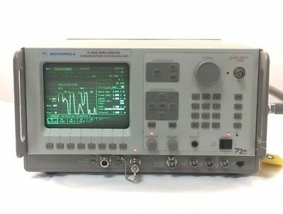 Motorola R2660A MIRS Digital Communications System Analyzer -- With Options