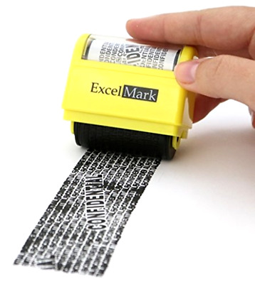 Multipurpose Identity Theft Security Stamp Roller For Confidential Documents Kit