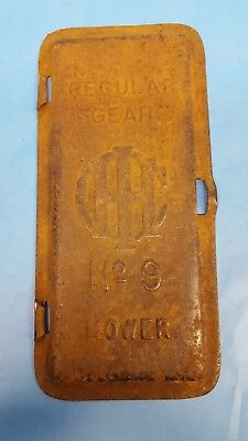 Antique Tractor International Harvester Case Tool Box Lid Cover