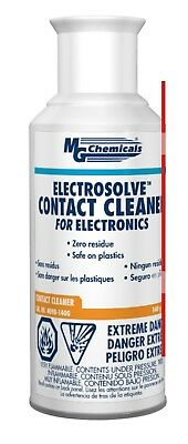 140g 5 Oz Electrosolve Zero Residue Contact Cleaner For Electronics Aerosol Can