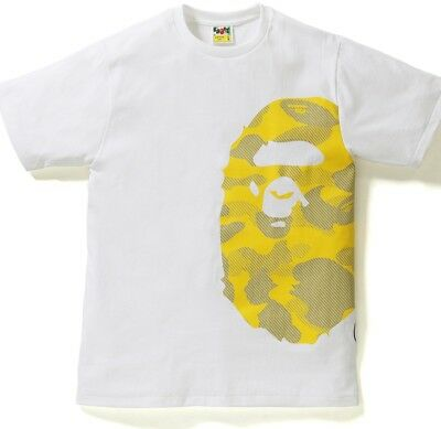 a28c8fd2 2018 S/S A BATHING APE Men's REFLECTION CAMO SIDE BIG APE HEAD TEE, Sz