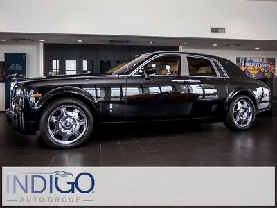 2005 Rolls-Royce Phantom  2005 Rolls-Royce Phantom   10815 Miles Black 4D Sedan 6.75L V12 DI DOHC 48V 6-Sp