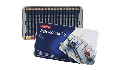 DERWENT Watercolour Pencils 36 Pack - R32881 *Free Shipping*
