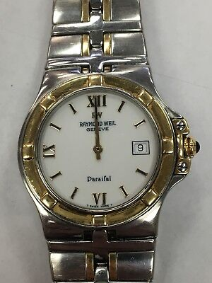 Raymond Weil Parsifal Mens Two Tone Watch 9590