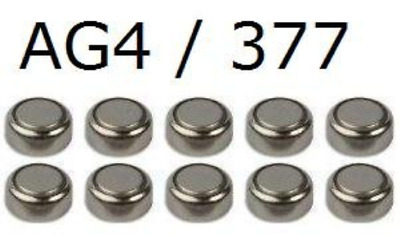 10 x 1.55V Button Coin Cell Watch Battery Batteries AG4 LR66 LR626 377 CR626SW