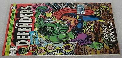 The Defenders #10 vintage Marvel Comic Book