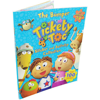 The Bumper Tickety Toc Sticker & Activity Collection - Brand New Rrp £5.99