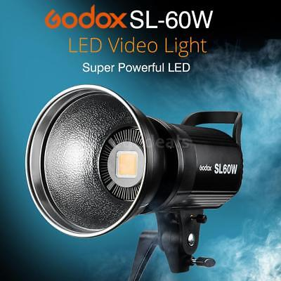 Godox SL-60W 5600K 60W High Power LED Videoleuchte+Fern für Video Studio Z4N6