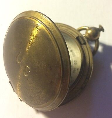 WWII US Army Air Force Waltham Brass Pocket FIELD Compass