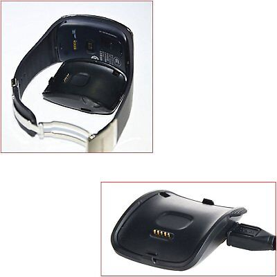 Charger Cradle Charging Dock for Samsung Galaxy Gear S Smart Watch SM-R750 US