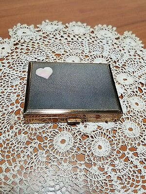 Vintage Switzerland Brass Music Box Compact by AGME