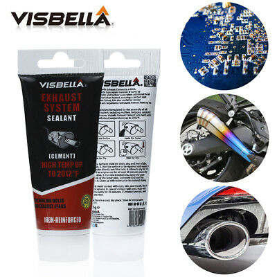 Exhaust System Pipe Repair Kit High Temperature to 1100C Cement Crack Sealant.