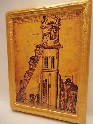 The Tower of Babel Old World Biblical Roman Catholic Religious Icon Art