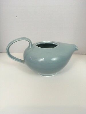 Iroquois Russel Wright CASUAL Ice Blue Tea Pot Made In U.S.A. No lid
