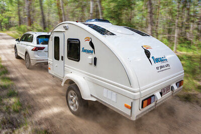 Tucana Teardrop Camper Ultra-light Weight Trailer Large Tent