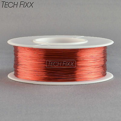 Magnet Wire 32 Gauge AWG Enameled Copper 1100 Feet Coil Winding and Crafts Red