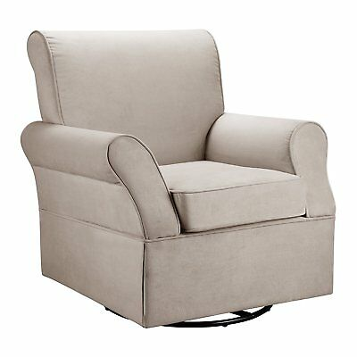 Baby Relax Swivel Glider, Comet Doe - Color: White