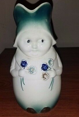 1940's Green Betsy Jug unmarked Blue Ridge Southern Pottery