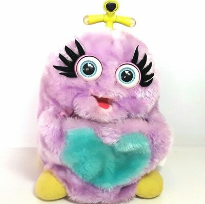 Wuv Luv plush Interactive soft toy pet Trendmasters 1999 1990s Purple WuvLuv