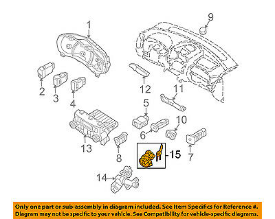 KIA OEM 06-12 Sedona-Ignition Lock Cylinder 819004DC00