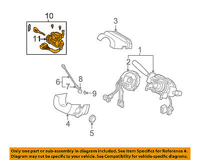 KIA OEM 02-05 Sedona-Ignition Lock Cylinder 0K53B76990