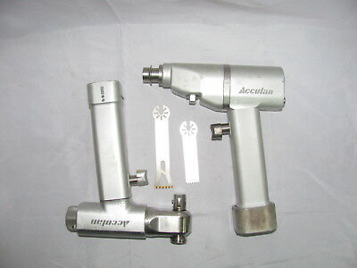 Aesculap Acculan GA 633+GA 613 Orthopedic drill and saw with blades