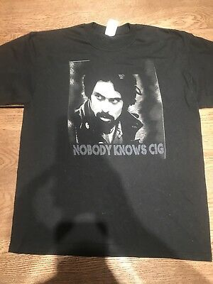Rare Vintage CKY Camp Kill Yourself Band Nobody Knows Cig Black Large Shirt