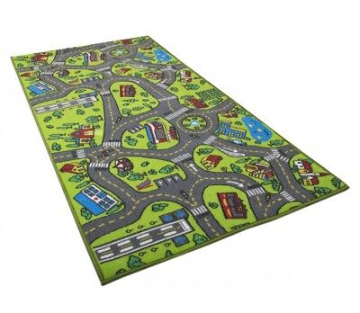 Kids Carpet Playmat Rug For Playing With Cars and Toy Baby Educational Play Room