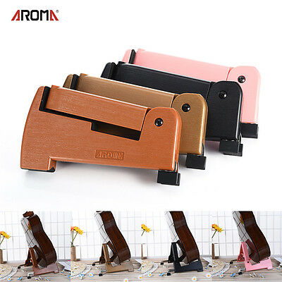 Plastic Folding Electric Acoustic Bass Guitar Stand A Frame Floor Rack Holder TG