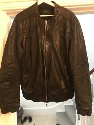mens all saints leather jacket