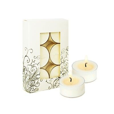 NEW  LIVINIA Soy Tea Light Candles (6 Pack) Unscented