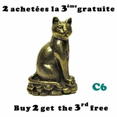 Chat en laiton / Brass cat